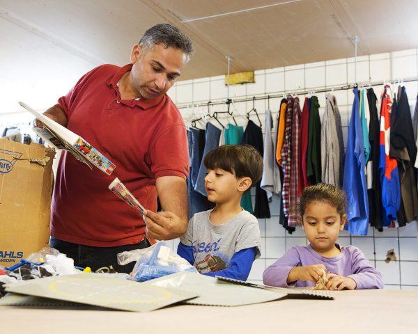 Aktivering_Børn i second Hand butikken